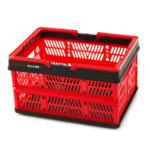 Folding mesh basket L
