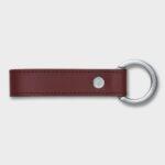 Leather Key Ring (Burgundy)